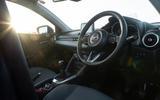 Mazda 2 Sport Nav 2020 UK first drive review - steering wheel