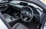 6 Mazda 3 e Skyactiv X 2021 UK fd cabin