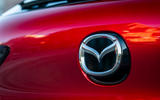 Mazda 3 Skyactiv-X 2019 first drive review - boot badge
