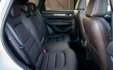 6 Mazda CX 5 2021 UK first drive review rear seats