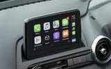 Mazda MX-5 2.0 Sport Tech 2020 UK first drive review - infotainment