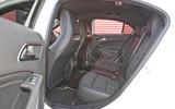 Mercedes-Benz A-Class rear seats