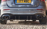 Mercedes-AMG A35 2019 UK first drive review - exhausts