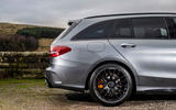 Mercedes-AMG C63 S Estate 2019 first drive review - rear end