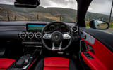 Mercedes-AMG CLA 35 Shooting Brake 2020 UK first drive review - dashboard