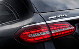 6 Mercedes AMG E52 2021 UK first drive review rear lights