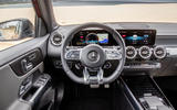Mercedes-AMG GLB 35 2020 first drive review - dashboard