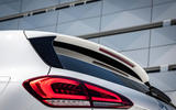 Mercedes-Benz A-Class A180D rear lights