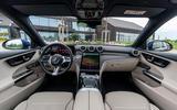 6 Mercedes Benz C Class C300e 2021 review dashboard