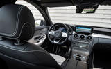 Mercedes-Benz C-Class C200 AMG Line 2018 UK review cabin