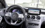 Mercedes-Benz C-Class C200 2018 review steering wheel