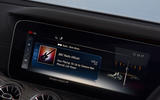 Mercedes-Benz CLS 350 d 2018 UK first drive infotainment