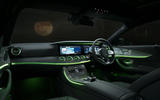 Mercedes-Benz CLS 450 2018 UK review interior lighting