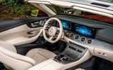Mercedes-Benz E-Class e450 Cabriolet 2020 UK first drive review - cabin