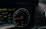 Mercedes-Benz E300e 2019 UK first drive review - instruments