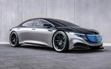 Mercedes-Benz EQS render - static front