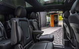 6 Mercedes Benz EQV 2021 LHD first drive review rear seats