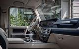 Mercedes-Benz G400d 2019 first drive review - cabin