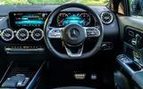 Mercedes-Benz GLA 220d 2020 UK first drive review - dashboard