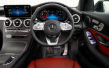 Mercedes-Benz GLC 300 2020 UK first drive review - dashboard