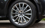 Mercedes-Benz GLC 300d 2019 first drive review - alloy wheels