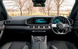 Mercedes-Benz GLE 2019 UK first drive review - dashboard