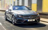 Mercedes-Benz S560 Coupe 2018 - stationary front