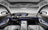 Mercedes-Benz S-Class S560e 2018 first drive review - dashboard