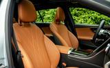 6 Mercedes C Class Estate 2021 UK LHD FD front seats