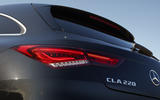 Mercedes-Benz CLA Shooting Brake 220d 2020 UK first drive review - rear lights