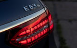 Mercedes-AMG E63 S Estate 2020 first drive review - rear lights