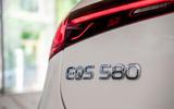 6 Mercedes EQS580 2021 FD rear badge