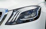 Mercedes-Benz S-Class S500L 2018 long-term review - headlights