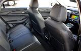 6 MG5 EV Rear seat 2021 FD