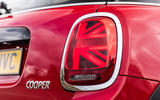 Mini Cooper 5dr 2018 UK review rear lights day