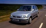 Nissan Micra Mk2 - hero front