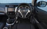 Nissan Navara 2020 UK first drive review - dashboard