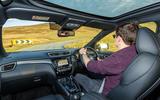 Nissan Qashqai 2018 UK first drive review - Tom Morgan driving