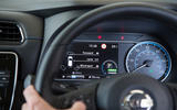Nissan Leaf 2nd generation (2018) long-term review instrument cluster