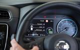 Nissan Leaf 2nd generation (2018) long-term review instrument cluster