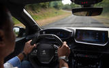 Peugeot 208 2020 prototype drive - driving