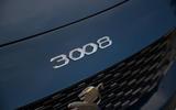 Peugeot 3008 Hybrid 2021 UK review - nose badge