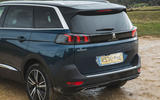 Peugeot 5008 2020 UK First Drive review - rear end