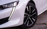 Peugeot 508 Hybrid4 2020 first drive review - alloy wheels