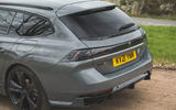 6 Peugeot 508 PSE 2021 UK first drive review estate boot