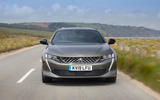 Peugeot 508 SW PureTech 225 GT 2019 UK first drive review - on the road nose