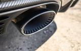Porsche Cayenne GTS 2020 UK first drive review - exhaust