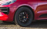 Porsche Macan GTS 2020 UK first drive review - alloy wheels