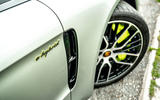 Porsche Panamera e-Hybrid 2020 UK first drive review - side decals
