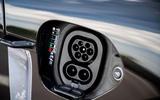 Porsche Taycan 2020 first drive review - charging port
